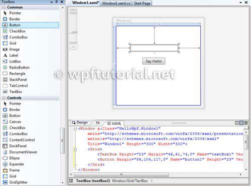 WPF-дизайнер